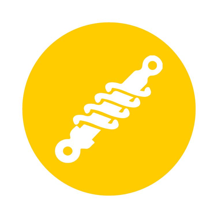Icon-Suspension-mit-weißem-Hintergrund