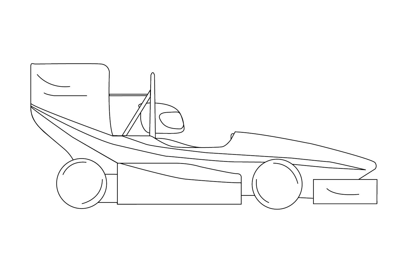 Stock-Portraitbild-linienmodel-Formula-Student-Scuderia-Mensa